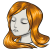 Orange Waist Length Hairstyle.png