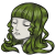 Green Curly Long Hairstyle.png